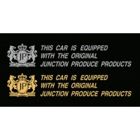 "Junction Produce ""This car is equipped with the orginal Junction Produce Products"" (Gold color)"