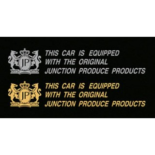 "Junction Produce ""This car is equipped with the orginal Junction Produce Products"" (Silver color)"