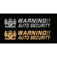 Junction Produce Warning sticker (Gold color)