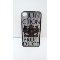 Junction Produce iPhone 4/4s case cover *Black Chrome*