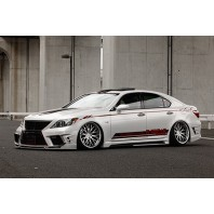 K-Break Hyper zero custom Lexus LS460 07-09 (3 Piece aero kit)