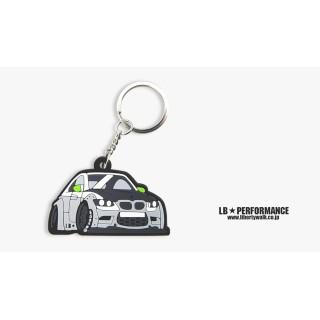 LB BMW M3 Keychain (Grey color)