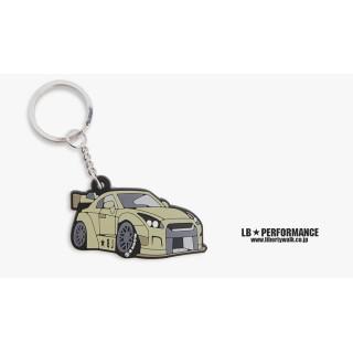LB Nissan GTR Keychain (Green color)