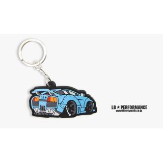 LB Lamborghini Keychain (Blue color)