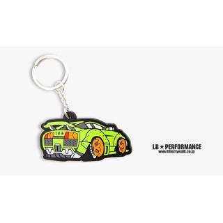 LB Lamborghini Keychain (Lime color)