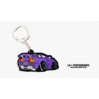 LB Lamborghini Keychain (Purple color)