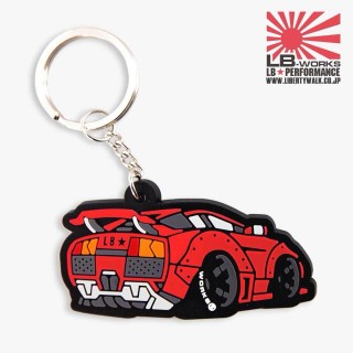 LB Lamborghini Keychain (Red color)