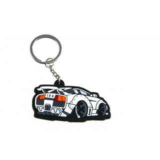 LB Lamborghini Keychain (White color)