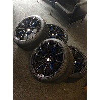 **USED** WEDS SA55M BBM color 19x9 19x10