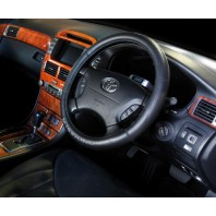 Junction Produce Steering Wheel cover -Black color (Medium size)