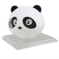 Black Panda Air Freshener