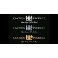 Junction Produce Windshield Sticker Silver color (Large size)